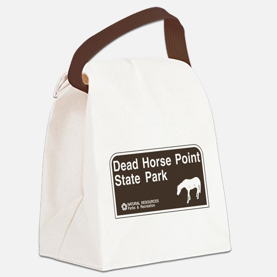 Dead Horse Point State Park, Utah Canvas Lunch Bag