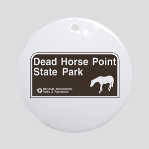 Dead Horse Point State Park, Utah Ornament (Round)