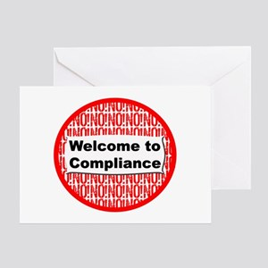 Hi Compliance Greeting Card