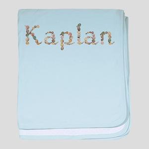 Kaplan Seashells baby blanket