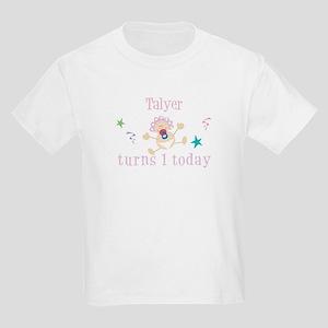 Talyer turns 1 today Kids Light T-Shirt