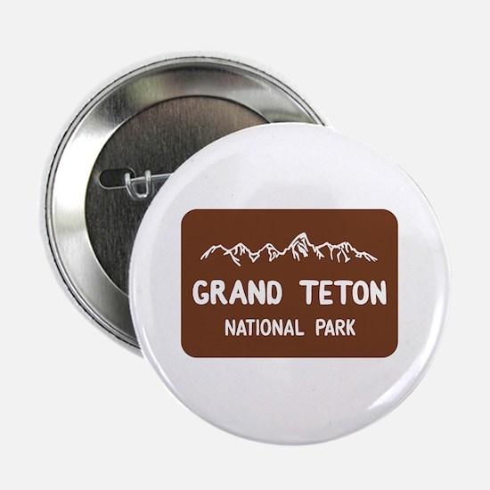 """Grand Teton National Park, Wyoming 2.25"""" Button"""