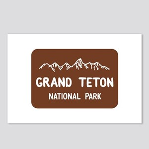 Grand Teton National Park Postcards (Package of 8)