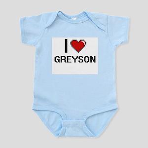 I Love Greyson Body Suit