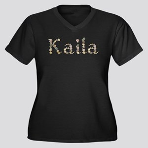 Kaila Seashells Plus Size T-Shirt