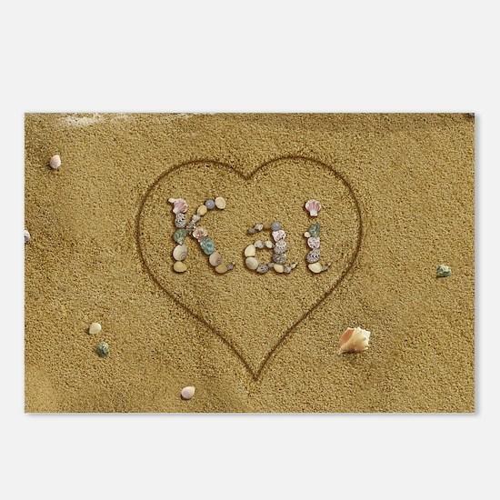 Kai Beach Love Postcards (Package of 8)