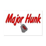 Navy Major Hunk  Mini Poster Print