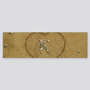 K Beach Love Sticker (Bumper)