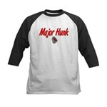 Navy Major Hunk Kids Baseball Jersey