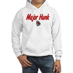 Navy Major Hunk Hooded Sweatshirt