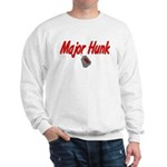 Navy Major Hunk Sweatshirt