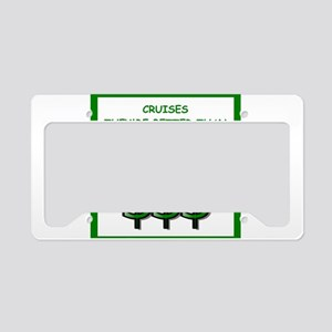 cruise License Plate Holder