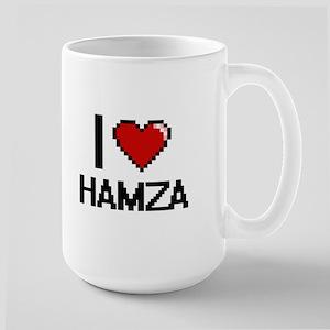 I Love Hamza Mugs
