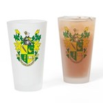 Kcsa Coat Of Arms-Logo Drinking Glass