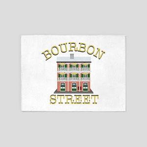 Bourbon Street 5'x7'Area Rug