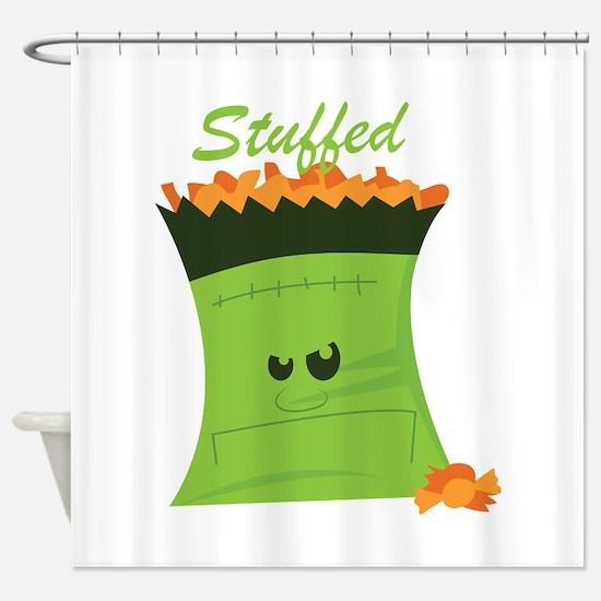 Stuffed Bag Shower Curtain