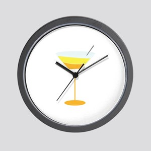 Halloween Martini Wall Clock