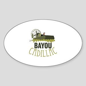 Bayou Cadillac Sticker
