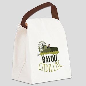 Bayou Cadillac Canvas Lunch Bag