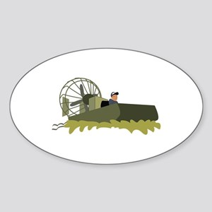 Bayou Airboat Sticker