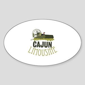 Cajun Limousine Sticker