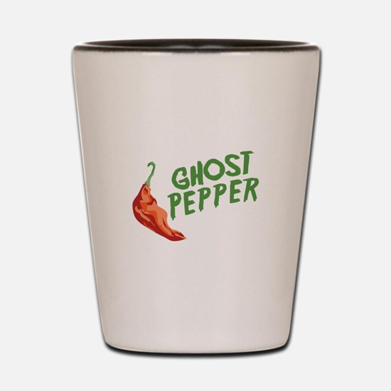 Ghost Pepper Shot Glass