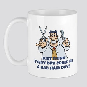 Bad Hair Day Humor Mug