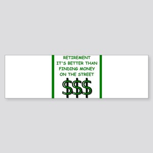 retirement Bumper Sticker
