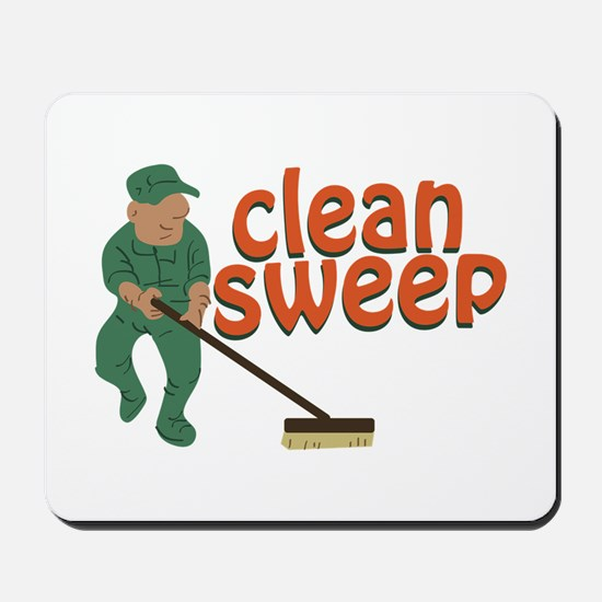 Clean Sweep Mousepad