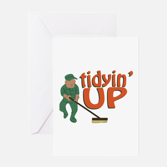 Tidyin Up Greeting Cards