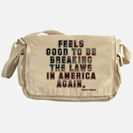 Eastbound and Down Breaking the Laws Messenger Bag