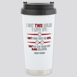 Eastbound and Down Two Stainless Steel Travel Mug