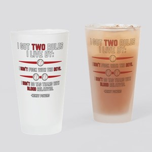 Eastbound and Down Two Rules Drinking Glass
