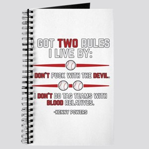 Eastbound and Down Two Rules Journal