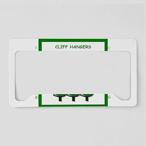 cliffhanger License Plate Holder