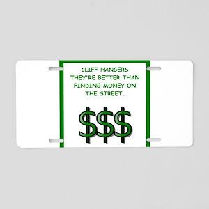 cliffhanger Aluminum License Plate