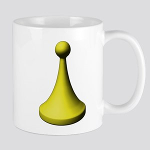 Yellow Pawn Mug