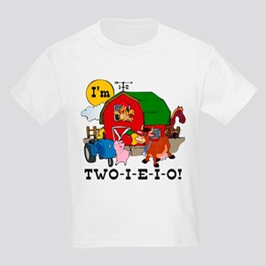 TWO I E O Kids Light T Shirt
