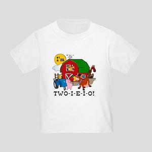 TWO-I-E-I-O Toddler T-Shirt
