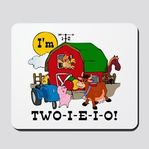TWO-I-E-I-O Mousepad