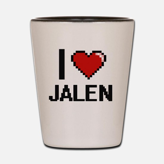 Cool Jalen Shot Glass