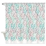 Ethnic Leaves Shower Curtain