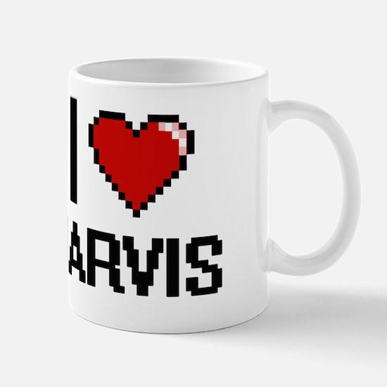 Unique I love jarvis Mug