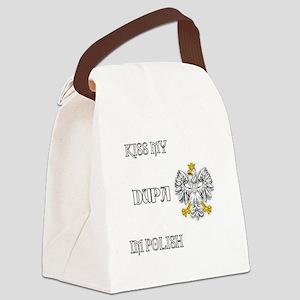 Kiss my Dupa Canvas Lunch Bag