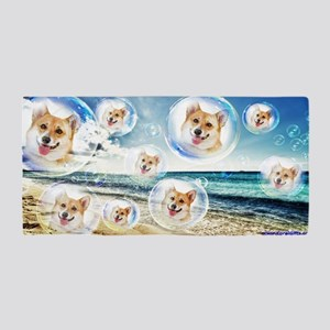Beach Corgis Beach Towel