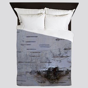 Birch Bark Queen Duvet