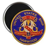 USS HARWOOD Magnet