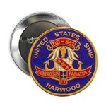 "USS HARWOOD 2.25"" Button"