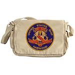USS HARWOOD Messenger Bag