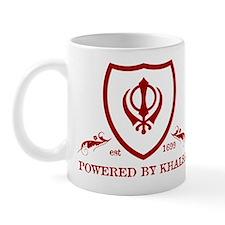 Powered by KHALSA - Mug